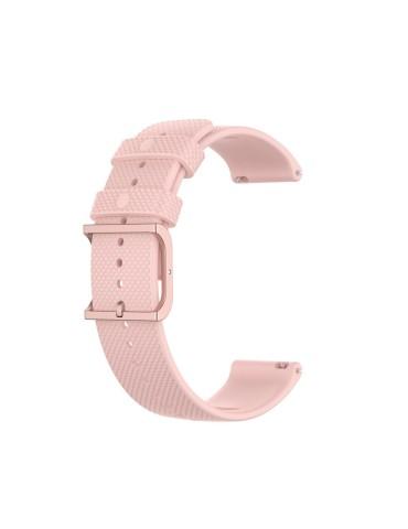 Λουράκι σιλικόνης για το HiFuture HiGear με rose gold κούμπωμα - Pink