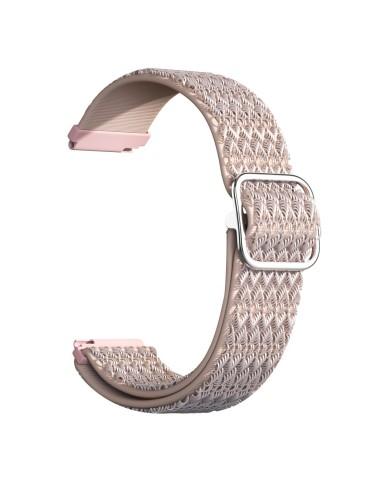 Nylon λουράκι με σχέδιο ρόμβους για το HiFuture HiGear- Pink