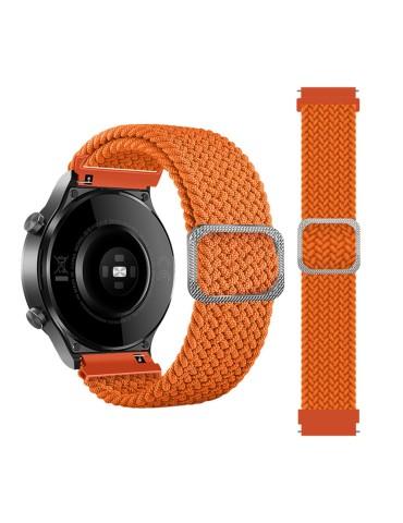 Nylon λουράκι  Braided Rope για το Amazfit GTR 47mm - Orange
