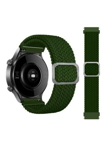 Nylon λουράκι  Braided Rope για το Amazfit GTR 47mm - Green