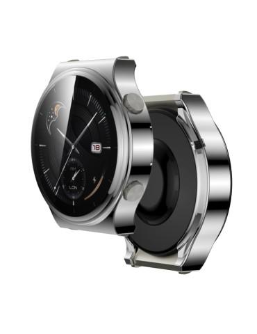 Θήκη σιλικόνης προστασίας για το Huawei Watch GT 2 Pro (Silver)