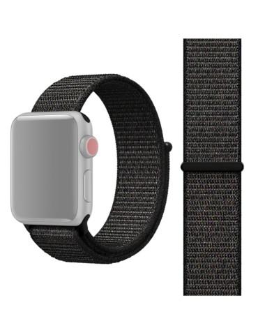 Υφασμάτινο λουράκι για το για το Apple Watch 42/44mm (Nightfall Black)