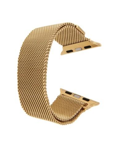 Μεταλλικό λουράκι με μαγνητικό κλείσιμο για το  Apple Watch 42/44mm (Gold)