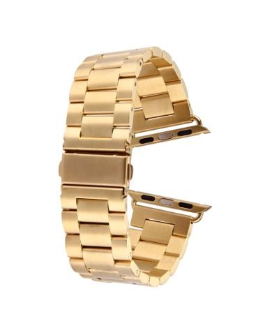 Μεταλλικό λουράκι  για το Apple Watch 42/44mm (Gold)