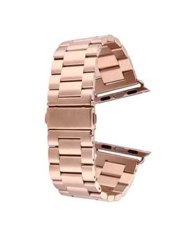 Μεταλλικό λουράκι  για το Apple Watch 42/44mm (Rose Gold)