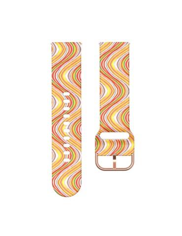 Λουράκι σιλικόνης για το Για Το HiFuture HiGear (Color wave pattern)