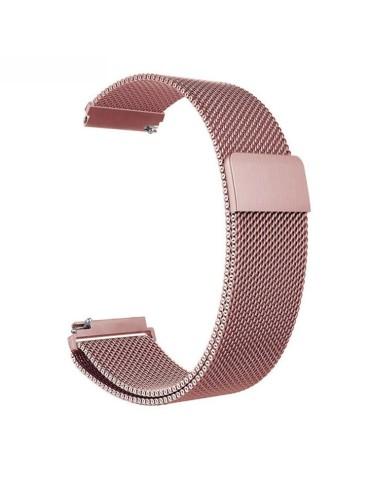 Μεταλλικό λουράκι με μαγνητικό κλείσιμο για το HiFuture HiGear  (Rose Pink)