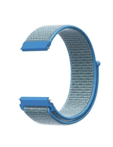 Yφασμάτινο λουράκι με αυτοκόλλητο κλείσιμο για το HiFuture HiGear (Tahoe Blue)