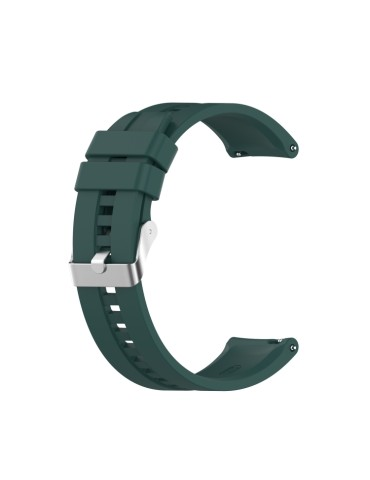 Λουράκι σιλικόνης με ασημί κούμπωμα Για Το HiFuture HiGear -  (Dark Green)