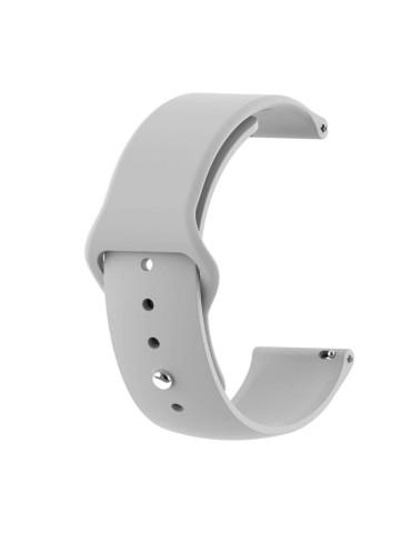 Λουράκι σιλικόνης με εσωτερικό κούμπωμα για το HiFuture HiGear-(Gray)