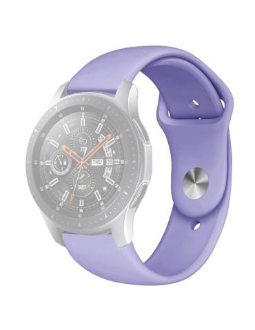 Λουράκι σιλικόνης με εσωτερικό κούμπωμα για το HiFuture HiGear-(Purple)