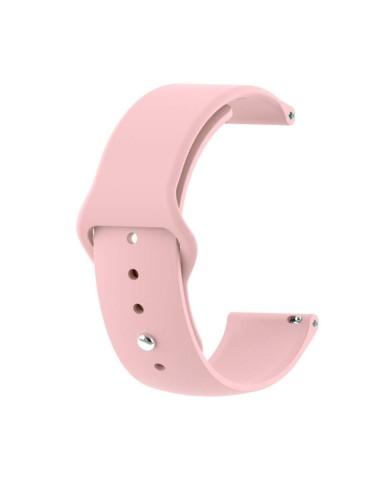 Λουράκι σιλικόνης με εσωτερικό κούμπωμα για το HiFuture HiGear-(Pink)