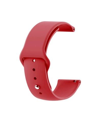 Λουράκι σιλικόνης με εσωτερικό κούμπωμα για το HiFuture HiGear-(Red)
