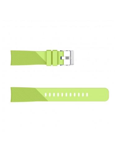 Twill Texture λουράκι σιλικόνης για το Amazfit GTS - Green
