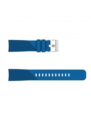 Twill Texture λουράκι σιλικόνης για το Amazfit GTS - Dark Blue