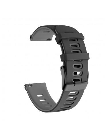 Dual-color λουράκι σιλικόνης για το Amazfit GTS- Black/Grey