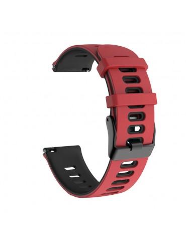 Dual-color λουράκι σιλικόνης για το Amazfit GTS- Red/Black