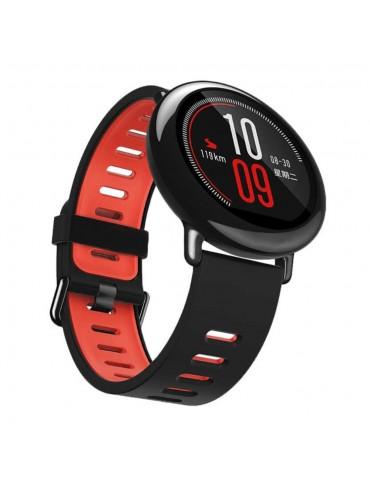 Λουράκι σιλικόνης για το Huawei Watch GT/GT 2 (46mm)/ GT 2e /GT Active/Honor Magic/Watch 2 Classic - Black / Red
