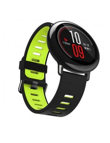 Λουράκι σιλικόνης για το Huawei Watch GT/GT 2 (46mm)/ GT 2e /GT Active/Honor Magic/Watch 2 Classic- Black / Green