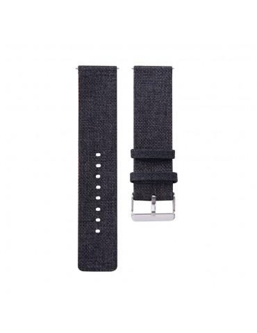 Υφασμάτινο λουράκι για το Garmin Vivomove HR/ Vivomove  - Black
