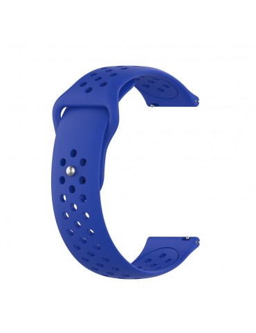 Λουράκι σιλικόνης με τρύπες για το Huawei Watch GT/GT 2 (46mm)/ GT 2e /GT Active/Honor Magic/Watch 2 Classic - Dark Blue